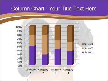 Blond Woman in Black PowerPoint Templates - Slide 50