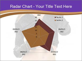 Blond Woman in Black PowerPoint Templates - Slide 51