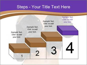 Blond Woman in Black PowerPoint Templates - Slide 64