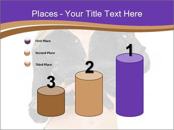 Blond Woman in Black PowerPoint Templates - Slide 65