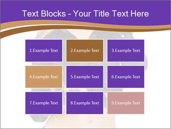 Blond Woman in Black PowerPoint Templates - Slide 68