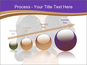 Blond Woman in Black PowerPoint Templates - Slide 87
