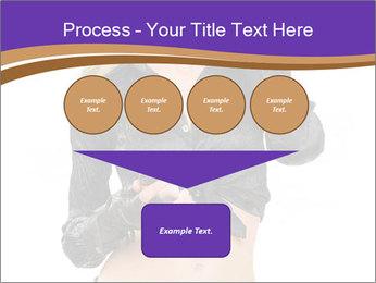 Blond Woman in Black PowerPoint Templates - Slide 93