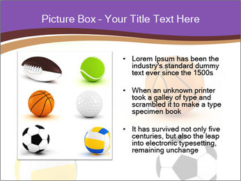 Types of Balls PowerPoint Template - Slide 13