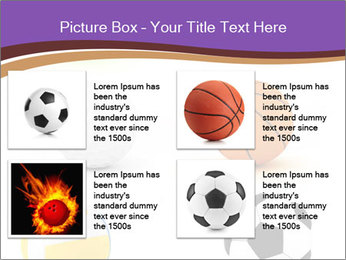 Types of Balls PowerPoint Template - Slide 14