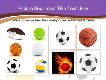 Types of Balls PowerPoint Template - Slide 19