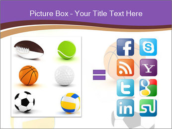 Types of Balls PowerPoint Template - Slide 21