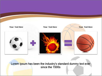 Types of Balls PowerPoint Template - Slide 22