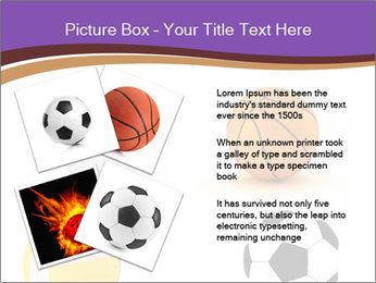 Types of Balls PowerPoint Template - Slide 23