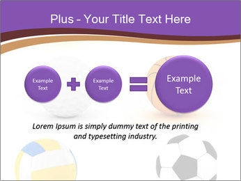 Types of Balls PowerPoint Template - Slide 75