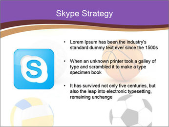 Types of Balls PowerPoint Template - Slide 8