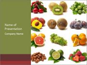 Useful Fruits PowerPoint Templates