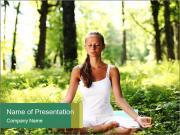 Peaceful Meditation PowerPoint Templates