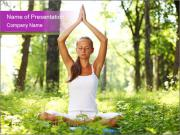 Peace of Yoga PowerPoint Templates