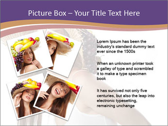 Fruits Over Female Hat PowerPoint Templates - Slide 23