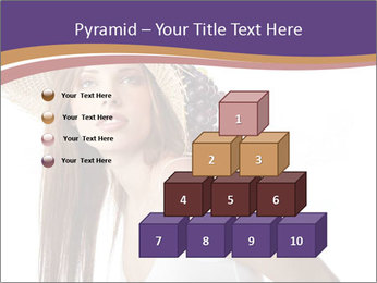 Fruits Over Female Hat PowerPoint Templates - Slide 31