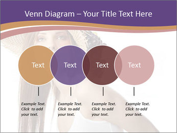 Fruits Over Female Hat PowerPoint Templates - Slide 32