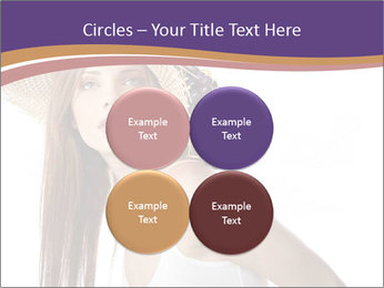 Fruits Over Female Hat PowerPoint Templates - Slide 38