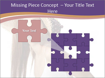 Fruits Over Female Hat PowerPoint Templates - Slide 45