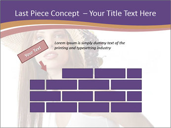 Fruits Over Female Hat PowerPoint Templates - Slide 46