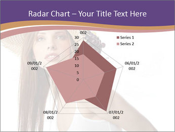 Fruits Over Female Hat PowerPoint Templates - Slide 51