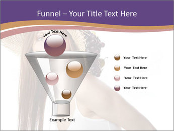 Fruits Over Female Hat PowerPoint Templates - Slide 63