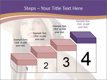 Fruits Over Female Hat PowerPoint Templates - Slide 64
