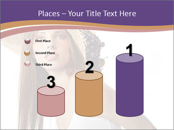 Fruits Over Female Hat PowerPoint Templates - Slide 65