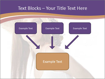 Fruits Over Female Hat PowerPoint Templates - Slide 70