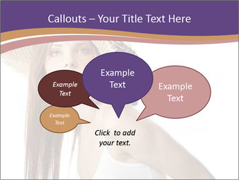 Fruits Over Female Hat PowerPoint Templates - Slide 73