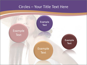Fruits Over Female Hat PowerPoint Templates - Slide 77
