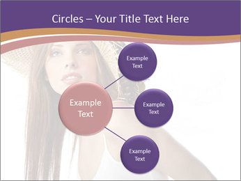 Fruits Over Female Hat PowerPoint Templates - Slide 79