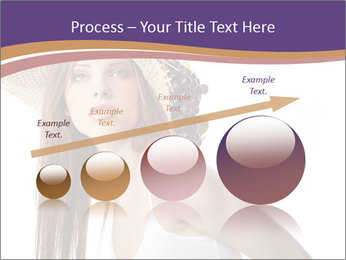 Fruits Over Female Hat PowerPoint Templates - Slide 87