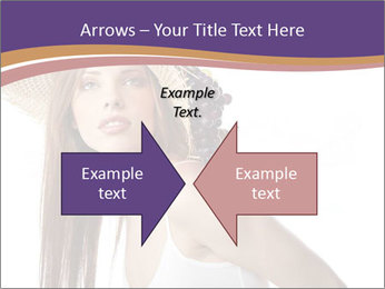 Fruits Over Female Hat PowerPoint Templates - Slide 90