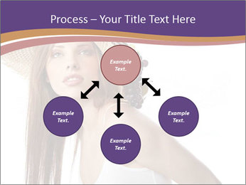 Fruits Over Female Hat PowerPoint Templates - Slide 91