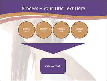 Fruits Over Female Hat PowerPoint Templates - Slide 93