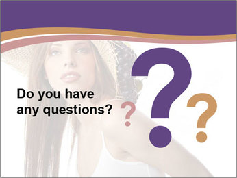 Fruits Over Female Hat PowerPoint Templates - Slide 96