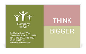 0000063522 Business Card Template