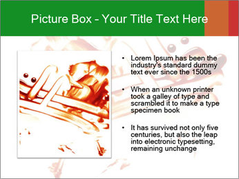 Messy Blood PowerPoint Template - Slide 13