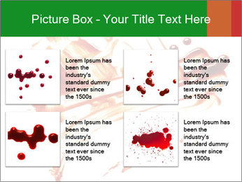 Messy Blood PowerPoint Template - Slide 14