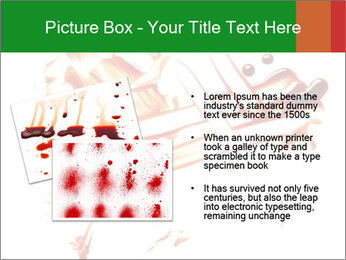 Messy Blood PowerPoint Template - Slide 20