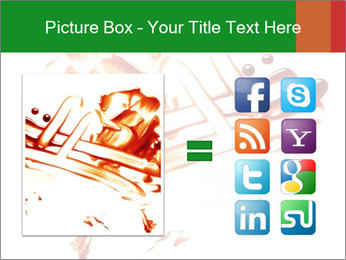 Messy Blood PowerPoint Template - Slide 21