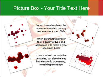 Messy Blood PowerPoint Template - Slide 24