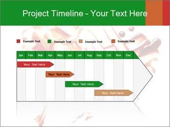 Messy Blood PowerPoint Template - Slide 25