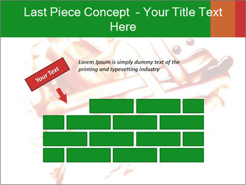 Messy Blood PowerPoint Template - Slide 46