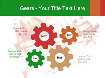 Messy Blood PowerPoint Template - Slide 47