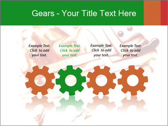 Messy Blood PowerPoint Template - Slide 48