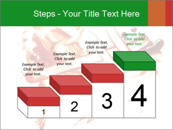 Messy Blood PowerPoint Template - Slide 64