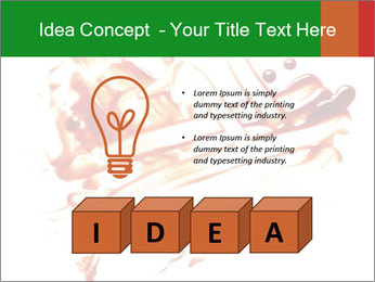 Messy Blood PowerPoint Template - Slide 80