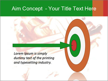 Messy Blood PowerPoint Template - Slide 83